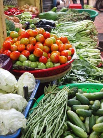 多くの野菜