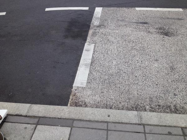 街中の地面