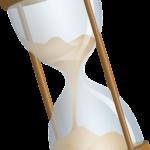 時間を示す砂時計