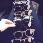 たくさんのメガネ