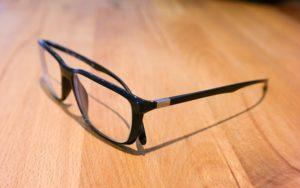 メガネの存在感