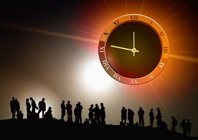 時間と人間