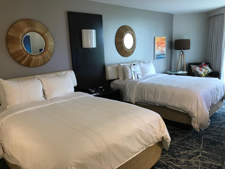 快適なホテルの部屋